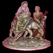 "REDUCED Borsato - ""Flight Into Egypt"" - Wonderful Multi-Figural Sculpture"