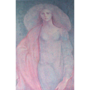 "SALE Leonor Fini - ""L'Amazone"", Signed and Numbered Closed Limited Edition"