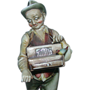 """REDUCED Borsato - """"The Organ Grinder"""" - You can't resist his expression!"""
