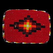 LARRY HAGMAN'S ESTATE - Native American Beaded Belt Buckle