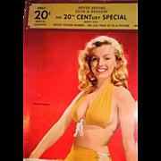 REDUCED MARILYN MONROE - Rare Salesman's Sample Calendar, Circa 1956