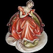 REDUCED BORSATO - Woman With Bird - Exquisite!