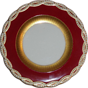REDUCED Ten Antique Minton Porcelain Plates Made For Tiffany And Co.