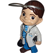 """""""Doctor"""" Sculpture - Absolutely Adorable - Signed,  c. 1976"""