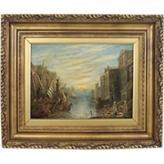 REDUCED Original Signed Oil by Well-Listed Artist Claude T. Stanfield Moore  (English, 1853 ..