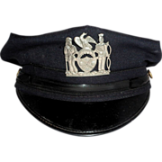 REDUCED Larry Hagman Estate  Policeman's Cap