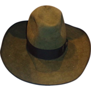 SALE Larry Hagman Custom Made O'Farrell Cowboy Hat