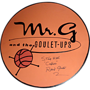Robert Goulet Personally Signed Bandstand Sign Used On The Set of ESPN's NCAA Basketball ...