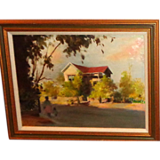 SALE Anatole Aleksandrovich Efimov (Russian 1897 - 1981) Original Oil, An Outstanding Work