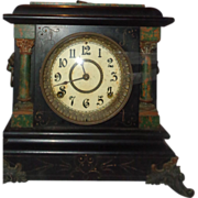 Early 20th Century Seth Thomas Mantle Clock. Has Key and Pendulum.