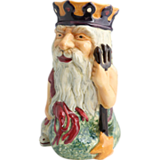 "SALE Staffordshire Very Large Character Jug ""Father Neptune"" Made By Shorter & Son,"