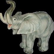 SALE CACCIAPUOTI  (1892 - 1953) - Signed Large Porcelain Sculpture Of Elephant, Italy,