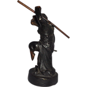 SALE Bronze Sculpture of the Monkey King (Sun WuKong) - Representing Health, Safety and Succes