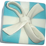 REDUCED Tiffany & Co. Porcelain Lidded Gift Box, The Box Is The Gift!
