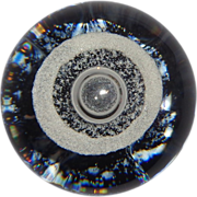 """SALE Selkirk Art Glass (Scotland) """"Tornado"""" Limited Edition Paperweight, Signed/Numb"""