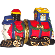 """SALE """"The Little Train That Could"""" Dresser or Trinket Box"""