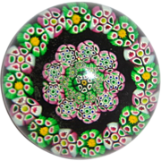 SALE Very Beautiful Art Glass Paperweight From An Important Estate