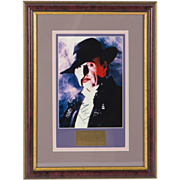 SALE Michael Crawford as The Phantom Of The Opera - Signed Framed Photograph