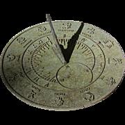 Zodiac Sun Dial