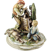 "SALE Borsato ""Sharpener With Audience""  - Multi-Figural Sculpture, Simply Wonderful."