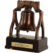 SALE Philadelphia Liberty Bell - Gifted To General Alexander M. Haig Jr., U. S. Secretary of .