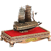 SALE Miniature Korean Turtle Ship From The Estate Of General Alexander M. Haig Jr., U ...
