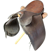 SALE J. A. Barnsby Leather Saddle