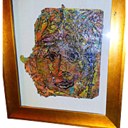 """REDUCED ALEXANDER GORE (Russian 20th Century) Original Signed Oil On Linen - """"Then And No"""