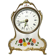 SALE PENDING From Germany - Linden Black Forest Clock With Reuge Music Box