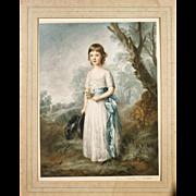 Sidney Ernest Wilson  (American, born 1869) - Signed  Mezzotint -