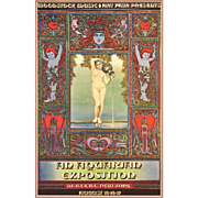"""SOLD WOODSTOCK Music and Art Fair """"An Aquarian Exposition"""" Poster/Print, Framed, Rea"""