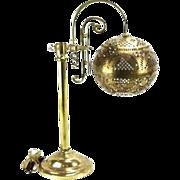 Brass Globe Lamp