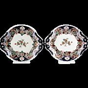 Pair of Antique Imari Porcelain Serving Dishes.