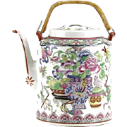 REDUCED Exquisite Hand-Painted Chinese Porcelain Tea Pot