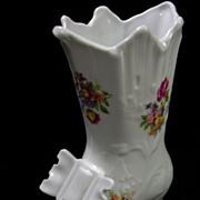 SALE Signed German Democratic Republic Vintage Old Fashion Boot Vase