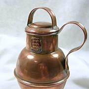 SALE Jersey Copper Cream Jug