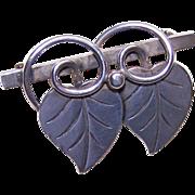 Alphonse LaPaglia for GEORG JENSEN USA Sterling Silver Pin/Brooch!