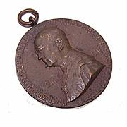 C.1910 Religious Medal/Pendant of Pope Pius X