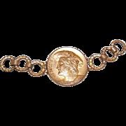 DESTASH!  C.1900 FRENCH Necklace Pendant Section - King Francois I of France!