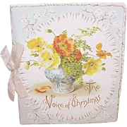 Sweet VICTORIAN Gift Booklet - The Voice of Christmas!