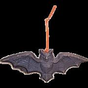 SOLD Vintage HALLOWEEN Pressed Paper Black Bat!