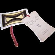 UNUSED C.1930 Dance Card - Pi Kappa Alpha ROYAL FLUSH Party!