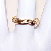 Vintage 18K Gold TIFFANY & CO Wedding Band with Interesting Inside Sentiment!