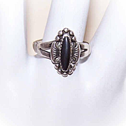 Bell Trading Post  STERLING SILVER & Mother of Pearl Ring!