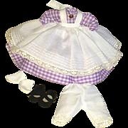 Madame Alexander Alexander kin 8 inch Meg outfit