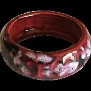 Vintage German Lava Pottery Bracelet