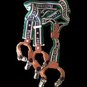 Vintage Heineken Beer Suspenders