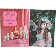 Vintage Out of Print Doll Reference Books bisque and half Bisque Dolls and French Doll ...