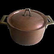 Vintage Paul Revere copper pot with lid