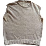 1950s Dalton cashmere shell